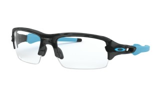 Oakley RX Flak XS (youth) Matte Black Camo/ Clear