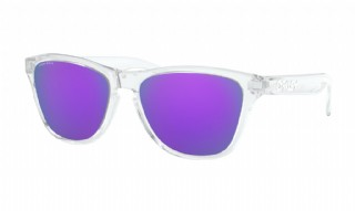 Oakley Frogskins XS (extra small) Polished Clear / Prizm Violet