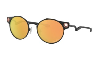 Oakley Deadbolt Satin Black/ Prizm Rose Gold Polarized