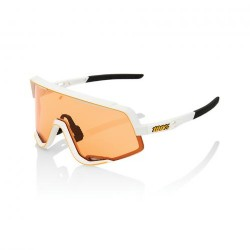 100% Glendale Soft Tact Off White/ Persimmon Lens