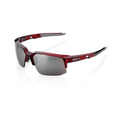 100% Speedcoupe Cherry Palace/ HiPER Silver Mirror Lens