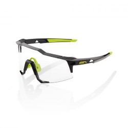 100% Speedcraft Polished Black/ Photochromic lens