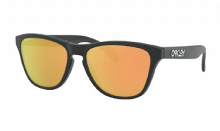 Oakley Frogskins XS (Extra Small) Matte Black/ Prizm Rose Gold