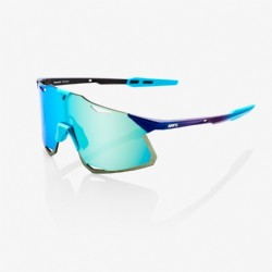 100% Hypercraft Matte Metallic Into the Fade/ Blue Topaz Multilayer Mirror Lens + Clear Lens Included