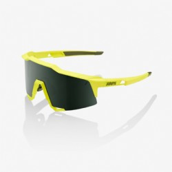 100% Speedcraft Soft Tact Banana/ Grey Green Lens