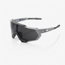 100% Speedtrap Soft Tact Stone Grey/ Smoke Lens