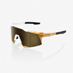 100% Speedcraft® Peter Sagan LE White Gold Soft/ Gold Mirror Lens