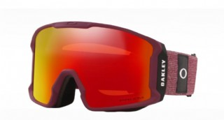 Oakley Line Miner Heathered Grenache Grey/ Prizm Torch