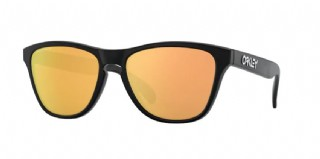 Oakley Frogskins XS (extra small) Matte Black/ Prizm Rose Gold Polarized