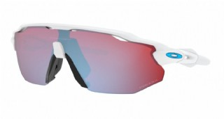 Oakley Radar EV Advancer Polished White/ Prizm Snow Sapphire