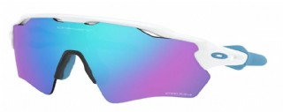 Oakley Radar EV XS (extra small) Polished White/ Prizm Sapphire