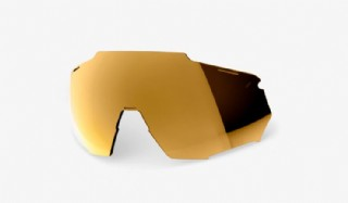 100% Racetrap Lens/ Bronze Multilayer Mirror
