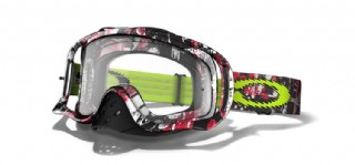 Oakley Crowbar MX One Icon Red/ Clear