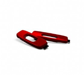Oakley Dispatch II Icon, Anodized Red