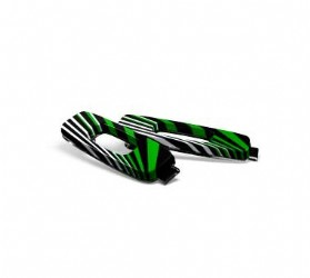 Oakley Dispatch II Icon, Green Sunset Stripes