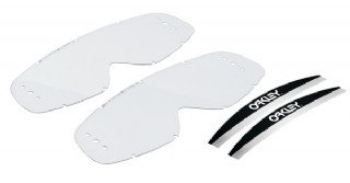 Oakley Roll-Off Replacement Clear lens 2-Pack Kit, Mayhem
