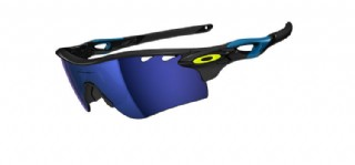 Oakley Radarlock Path Limited Edition Fathom Polished Black/ Ice Iridium Vented & Clear Vented