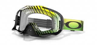 Oakley Crowbar MX Ryan Villopoto Signature Series Vide Stripes Green/ Clear
