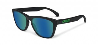 Oakley Frogskins Limited Soft Touch Collection Black/ Jade Iridium