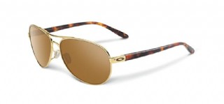 Oakley Feedback Polished Gold/ Brown Gradient Polarized