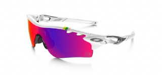 Oakley Radarlock Special Edition Tour de France Polished White/ OO Red Iridium Polarized & VR28 Black Iridium