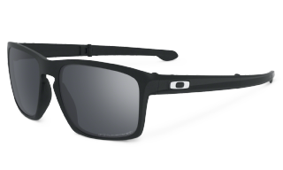 Oakley Sliver F Matte Black/ Black Iridium Polarized