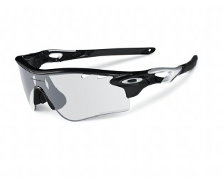 Oakley Radarlock Path Polished Black /Clear Black Iridium Photochromic