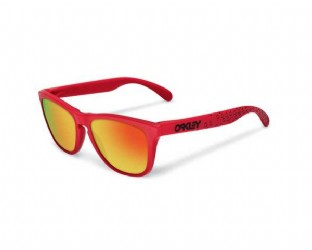 Oakley Frogskins B1B Collection Matte Red/ Fire Iridium