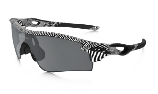 Oakley Radarlock Path Fingerprint Collection White/ Black Iridium Polarized & Clear