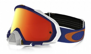 Oakley Mayhem Pro MX Shockwave Blue/ Fire Iridium