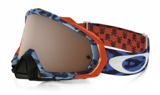 Oakley Mayhem Pro MX Troy Lee Design Cheetah Blue/ Black Iridium