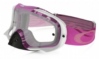 Oakley Crowbar MX Razorwire Pink/ Clear
