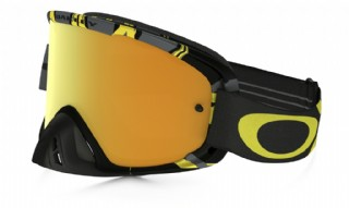 Oakley O2 MX Imtimidator Gunmetal Yellow/ 24k Iridium & Clear