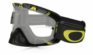 Oakley O2 MX Imtimidator Gun Metal Yellow/ Clear