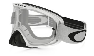 Oakley O2 MX Matte White/ Clear
