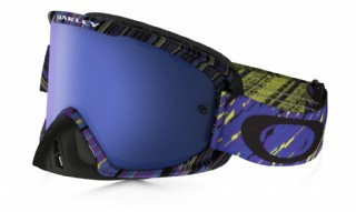 Oakley O2 MX Rain of Terror Blueprint/ Ice Iridium