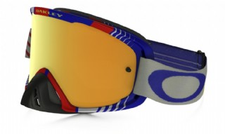 Oakley O2 MX Biohazard Red Blue/24K Iridium