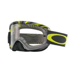 Oakley O2 MX RPM Gunmetal/ Green/ Clear