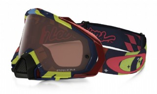 Oakley Mayhem Pro MX Troy Lee Designs Edition Phantom RYB/ Prizm Bronze