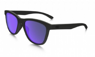 Oakley Moonlighter Matte Black/ Violet Iridium Polarized
