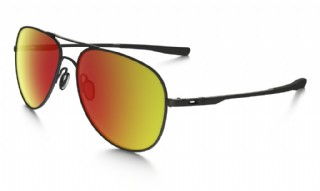 Oakley Elmont Large Satin Black/ Ruby iridium