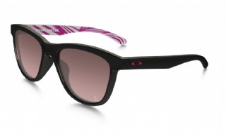Oakley Moonlighter YSC Breast Cancer Awareness Polished Black/ G40 Black Gradient