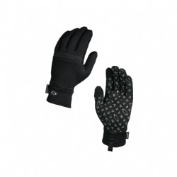 Oakley Diamondback Fleece Glove/ Jet Black