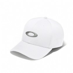 Oakley Tincan Cap/ White/ Grey Icon