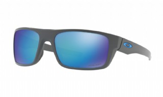 Oakley Drop Point Matte Dark Grey/ Prizm Sapphire Iridium Polarized