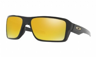 Oakley Double Edge Polished Black/ 24K iridium