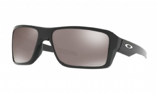 Oakley Double Edge Polished Black/ Prizm Black Polarized