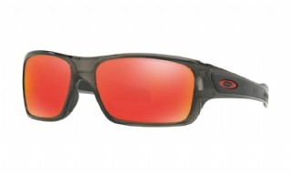 Oakley Turbine XS Grey Smoke/ Ruby Iridium