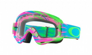 Oakley XS O-Frame High Voltage Pink Blue/ Clear