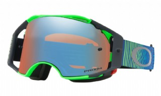 Oakley Airbrake MX Shockwave Blue Green/ Prizm MX Sapphire